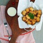 Salt & Pepper Tofu Fritters